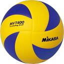 MIKASA(ミカサ)トレーニングボール 4号バレーボール 練習用MVT400(黄×青×黒)※こちらの商品はメーカーお取り寄せ商品になります。