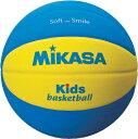 ミカサ MIKASAスマイルボール バスケットボール5号球重量約310g【SB5-YBL】