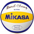 MIKASA(ミカサ)ビーチバレーボール 国際公認球バレーボールVLS300(白×黄×青)【FIVB】※こちらの商品はメーカーお取り寄せ商品になります。