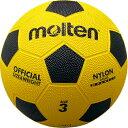 molten(モルテン) 亀甲ゴムサッカーボール3号 サッカーボールF3Y(イエロー×ブラック)※こちらの商品はメーカーお取り寄せになります