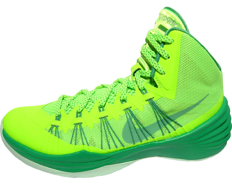 NIKE HYPERDUNK 2013 �ʥ��� �ϥ��ѩ`���� 2013 �Х����åȥܩ`�� ����`�� 599537-301 ��FLASH LIME/ELECTRIC GREEN-GAMMA GREEN��