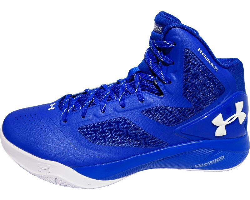 blue and white armour basketball shoes