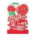 【川口製菓】さくらんぼちゃん 80g×1袋 さくらんぼキャンデー あめ アメ 飴