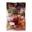 新発売【特価】アップルシナモンキャンディ42g さくっと食べれる新しい食感【大丸本舗】さくっとシリーズ新食感 デザート・スイーツ感覚のキャンデー