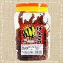 【駄菓子】げんこつ紋次郎いか(ポット入いか珍味)80本入り×5ポット 名古屋名物【卸