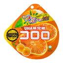 【卸価格】コロロ 三ヶ日みかん 40g×6袋入り1BOX【UHA味覚糖】果実のような新食感グミ 中国・タオバオでも人気急上昇!