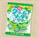 【卸価格】ミニゼリー プチクリームソーダゼリー メロン味 16g×10個【金城製菓】