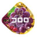 【卸価格】コロロ グレープ 40g×6袋入り1BOX【UHA味覚糖】果実のような新食感グミ 中国 タオバオでも人気急上昇!