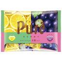 ピュレグミ アソートパック 136g×6袋【カンロ】ピュレグミ グレープ&レモンアソート 9個装(テトラパック)×6袋