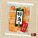 【特価】将角 サラダ 11枚×6袋【亀田製菓】