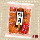 【特価】将角 しょうゆ 11枚×6袋【亀田製菓】