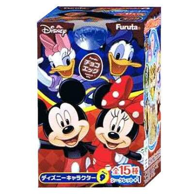 訳あり!チョコエッグ ディズニーキャラクター 9(10個入り1BOX)フルタ製菓60%引き チョコが溶けているため