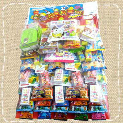 【お祭り・イベント】お菓子のくじ引き お菓子台紙当て60付【卸価格】