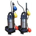 エレポン 樹脂製小型汚物水中ポンプ(自動交互運転型) EP-DN形 50Hz EP-250-2TDN