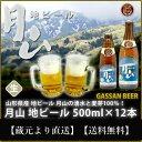 【送料無料】【産地直送】【地ビール】山形県産 月山ビール50...
