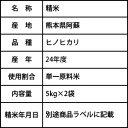 【令和元年度産】森のくまさん 精米・玄米10kg 有機JAS (熊本県 株式会社ろのわ) 産地直送