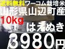 食味値15年連続特Aはえぬきです。ワーコム栽培米21年産山形県産ワーコム栽培はえぬき10kg【0426-送料無料】