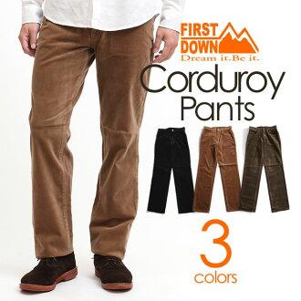 5 口袋燈芯絨褲子褲子保暖褲保暖褲冬天黑橙棕色是溫暖舒適的冬天保護簡單絕緣拉伸切口 Libre 伸展調用伸展