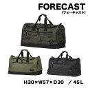 FORECAST(フォーキャスト) シューズ収納付き ボストンバッグ 容量45L カラー3色kjm-9107