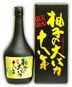 司牡丹 柚子の大バカ18年 720ML