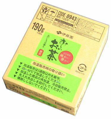 伊藤園 おーいお茶 190g缶1ケース(30本入)