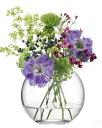 LSA GLOBE GLOBE VASE 〈CLEAR〉H110mm 【花瓶】<箱入り>