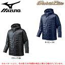 MIZUNO(ミズノ)グローバルエリート テックフィル ハーフコート(12JE6G12)(野球/ベースボール/トレーニング/スポーツ/ジャケット/中綿/保温/防寒/男性用/メンズ)
