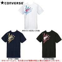 CONVERSE(コンバース)Jr.プリントTシャツ(CB471304)(バスケットボール/バスケ/プラクティス/半袖/吸汗速乾/子供用/ジュニア)の画像