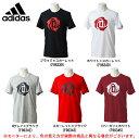 adidas (アディダス)MRose ロゴ半袖Tシャツ(DCU39)(バスケットボール/ウェア/カジュアル/男性用/メンズ)