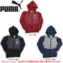 PUMA(プーマ)Jr フーデッド スウェット ジャケット(829724)(スポーツ/ジップアップ/パーカー/子供用/ジュニア/キッズ)