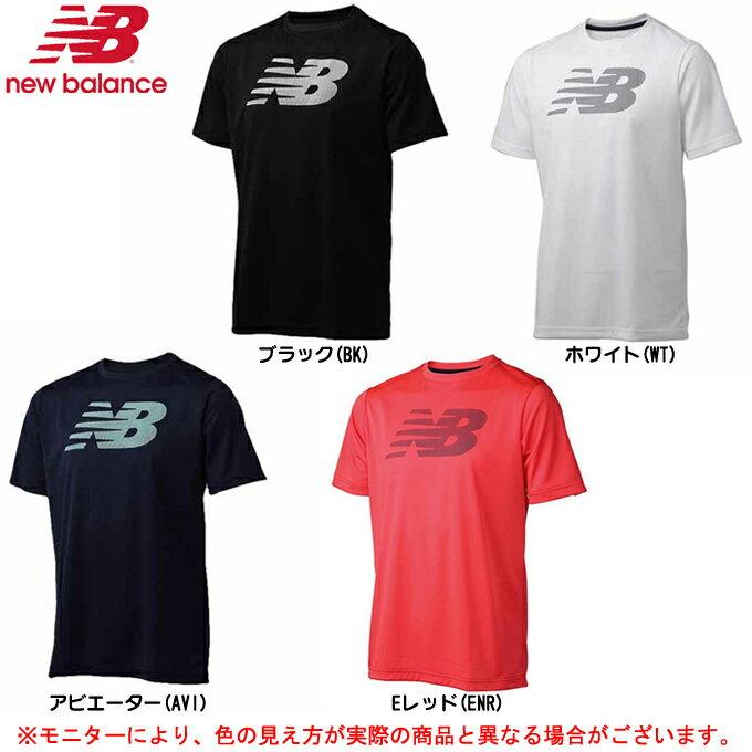 newbalance(ニューバランス)ベーシックビッグロゴTシャツ(JMTT7133)(テニス/スポ