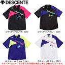 DESCENTE(デサント)半袖プラクティスピステ(DVB-3362)(バレー/バレーボール/ウェア/ピステ/半袖/ユニセックス/男女兼用)