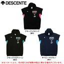 DESCENTE(デサント)W 039 s ハイネックカットオフスウェット(DVB2421W)(バレー/バレーボール/ウェア/シャツ/半袖/女性用/レディース)