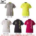 MIZUNO(ミズノ)ポロシャツ(32MA7080)(スポーツ/トレーニング/吸汗速乾/半袖/カジュアル/プラクティスシャツ/練習用/男性用/メンズ)