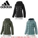 adidas(アディダス)コージィダウンジャケット(BJQ51)(スポーツ/トレーニング/カジュアル/ダウンジャケット/防寒/女性用/レディース)