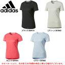adidas(アディダス)Snova 半袖TシャツW(BPF14)(スポーツ/トレーニング/半袖/プラクティスシャツ/女性用/レディース)
