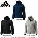 adidas(アディダス)MID クォーターニット フルジップパーカー(DJP60)(スポーツ/カジュアル/フーディー/男性用/メンズ)
