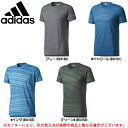 ショッピングアディダス adidas(アディダス)M4T トレーニング ストライプグラフィック エアロニットTシャツ(DTY16)(スポーツ/トレーニング/ランニング/半袖/吸汗速乾/男性用/メンズ)