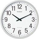 【あす楽】これはでかい!直径50センチの大型電波掛時計ザラージ GDK-001 GDK001キングジム 掛時計Gクラッセ 視認性抜群の壁掛け時計地域別送料