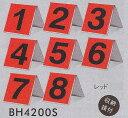 【BH4200S】 グラウンドゴルフ ホール表示板8枚セット グランドゴルフ用品