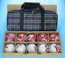 GB301B ゲートボール ボール1組チェック柄ケース付き ゲートボール用品