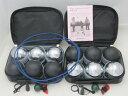 ペタンク レジャー球セット 普及用12個【サンラッキー】(ブラック6個・シルバー6個) ペタンク用品