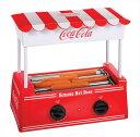 ノスタルジア コカコーラシリーズ ホットドッグ ローラー Nostalgia Electrics Coca-Cola Series HDR565COKE Old Fashioned Hot Dog Roller ソーセージ グリル 送料無料 【並行輸入品】