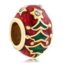 チャーム ブレスレット バングル用 パンドラチャームと適合 LovelyJewelry ラブリージュエリー Beads Easter Flower Yellow Faberge Egg Crystal European Charm Beads - For Bead & Bracelet