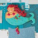ルビー マーメイド アレン デザイン 振り子時計 Allen Designs Ruby Mermaid Clock 【 人魚 ビーチ 魚 航海 タツノオトシゴ 置き時計 掛け時計 】 P1168 送料無料 ミシェルアレン ミシェル・アレン アレン・デザイン ALLEN DESIGNS 時計