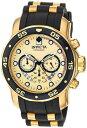 インビクタ Invicta インヴィクタ 男性用 腕時計 メンズ ウォッチ プロダイバーコレクション Pro Diver Collection ゴールド 17566 送料無料