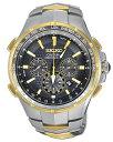 セイコー SEIKO 男性用 腕時計 メンズ ウォッチ クロノグラフ ブラック SSG010 送料無料 【並行輸入品】