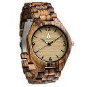 ツリーハット treehut ウッドウォッチ 木製腕時計 男性用 腕時計 メンズ ウォッチ ブラック HUT-4404