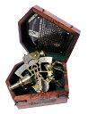 六分儀 真鍮製 真ちゅう 天体観測器機 SIXTANT MAH Handmade Antique Reproduction German Pattern Solid Brass Micrometer Sextant in Box. C-3095 送料無料 【並行輸入品】