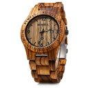 ビーウェル BEWELL ウッドウォッチ 木製腕時計 男性用 腕時計 メンズ ウォッチ ブラウン Woo86 送料無料